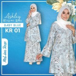 Ashley Kurung Riau - Baby Blue