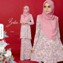 Kurung Zalia - Pink